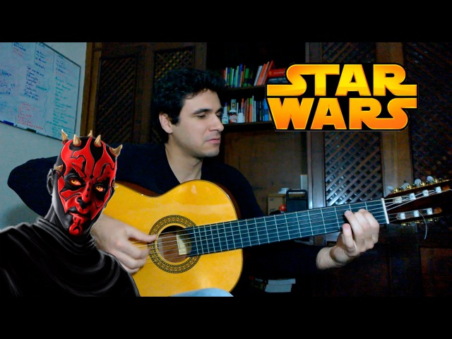 Duel of the Fates (Star Wars) - Fingerstyle Guitar (Marcos Kaiser) 8