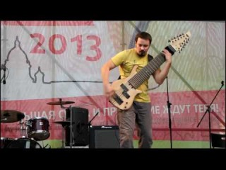 Василий Чернов (12-ти струнный бас) -Pulse Of The Earth-
