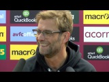 Aston Villa 0-6 Liverpool - Jurgen Klopp's Post Match Press Conference