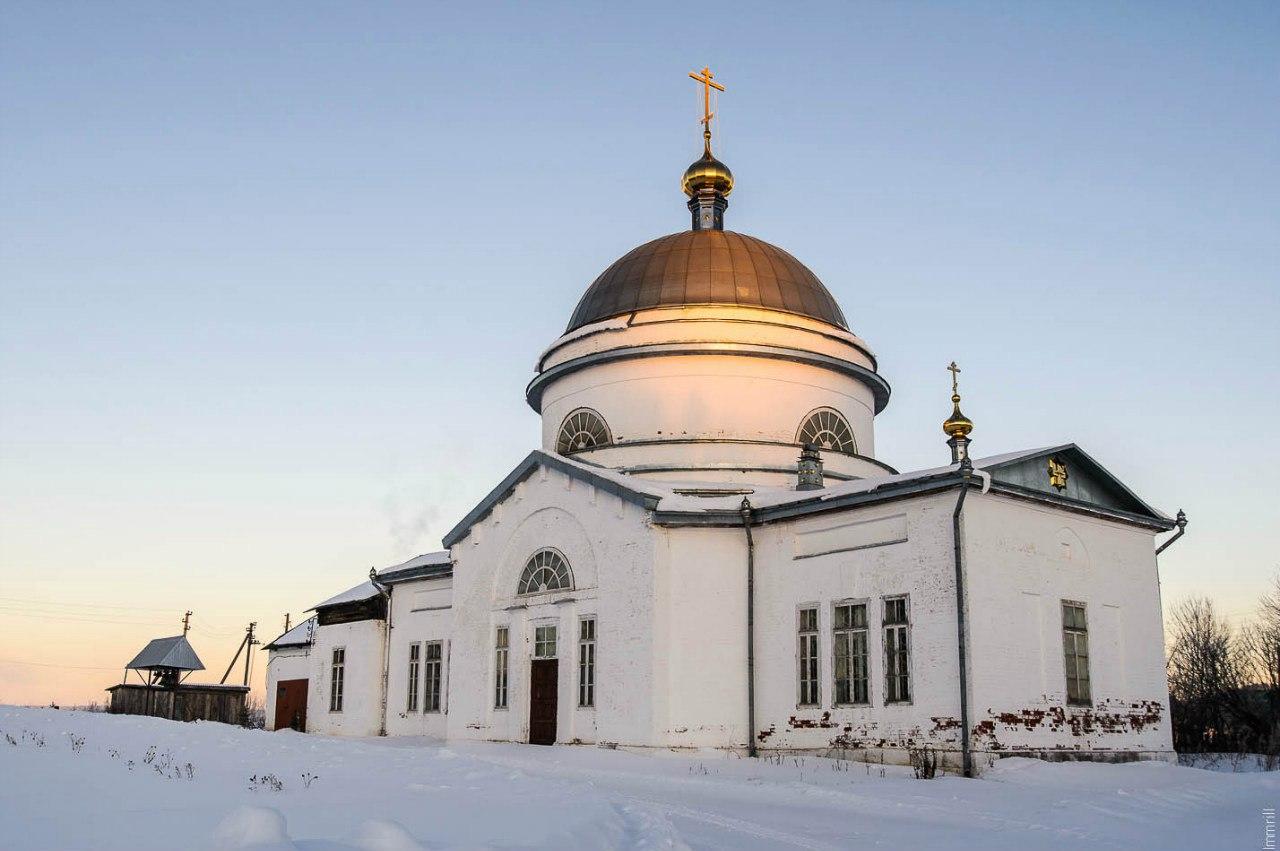 Вознесенская церковь в селе Троельга