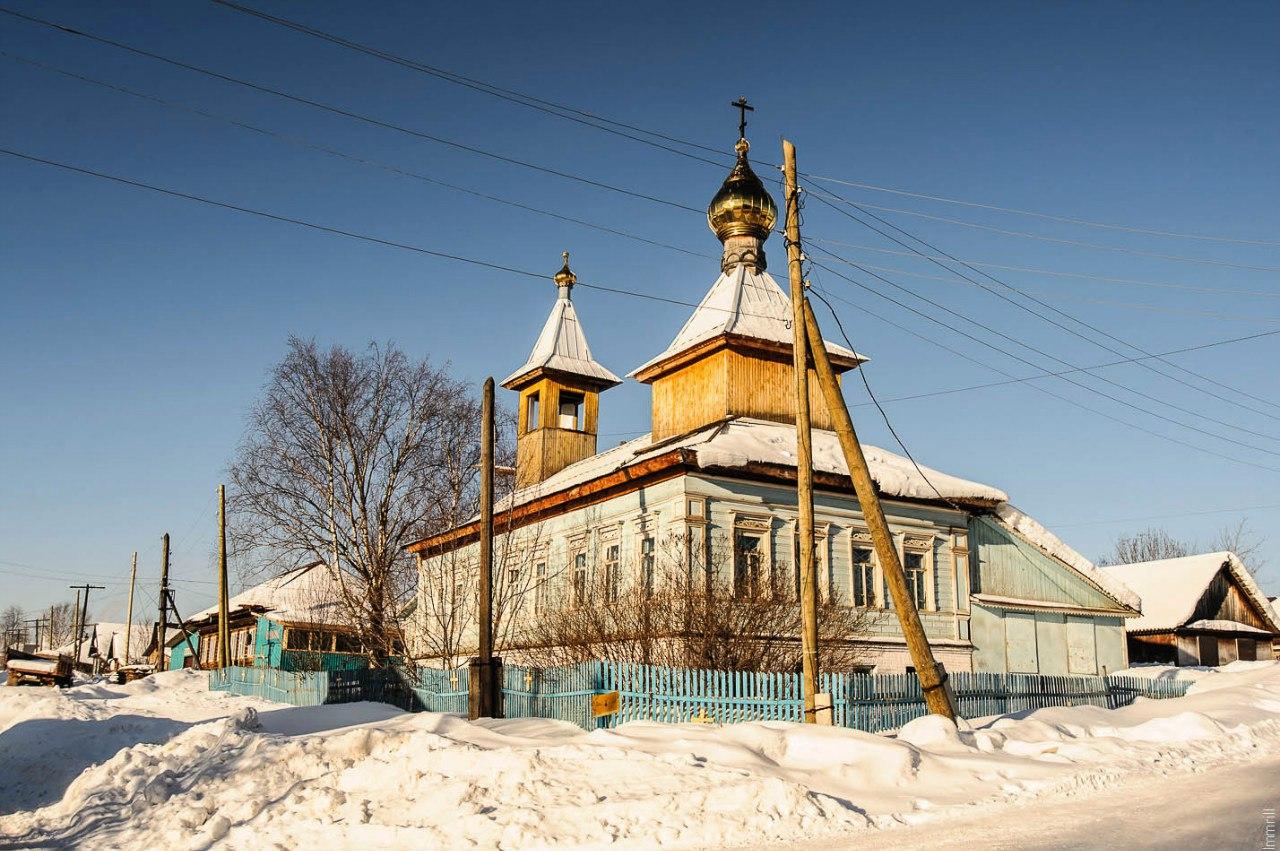 Церковь Казанской иконы Божией матери, перестроенная из купеческого дома