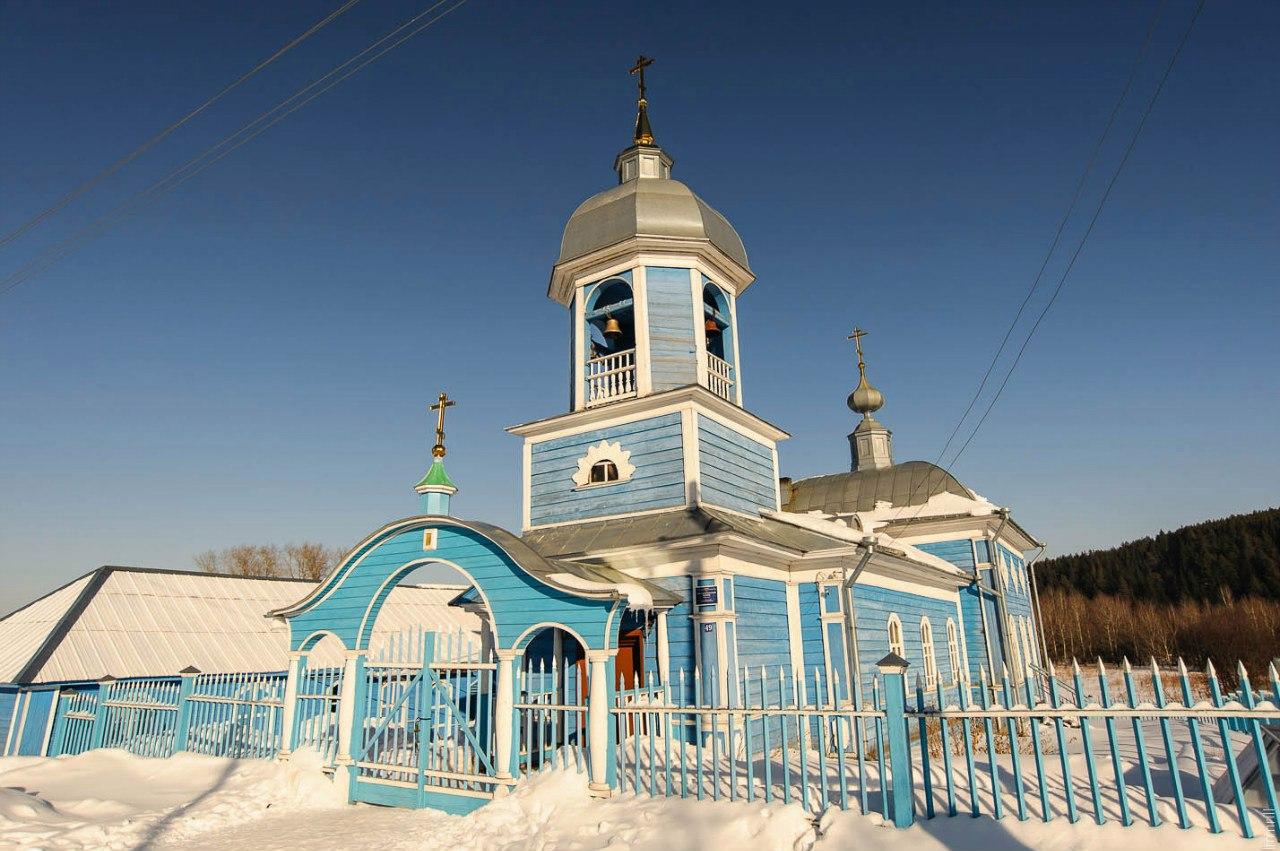 Алексеевская церковь в селе Кособаново (1907-10 года)