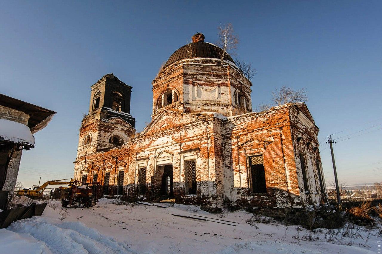 Благовещенская церковь в селе Веслянка