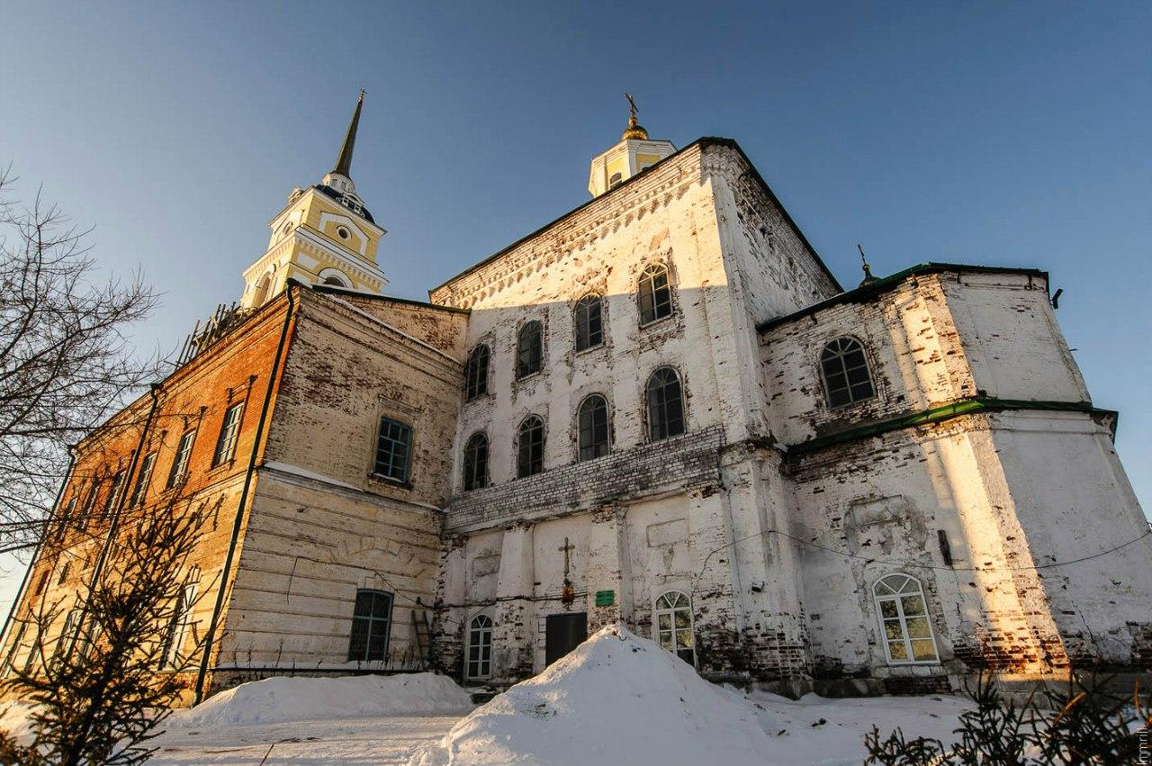 Церковь Рождества Иоанна Предтечи в Ленске