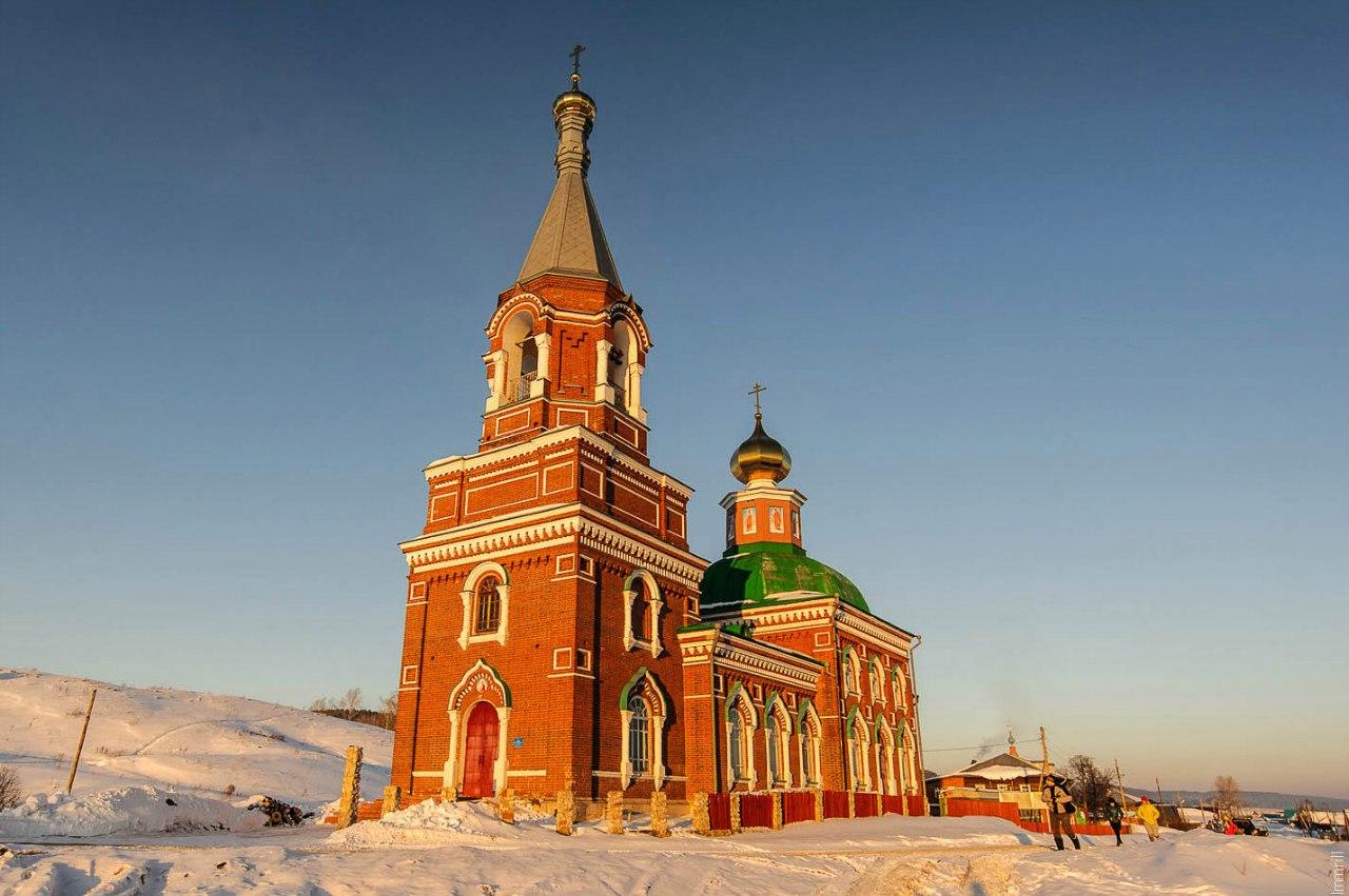 Церковь Илии Пророка в Колпашниках