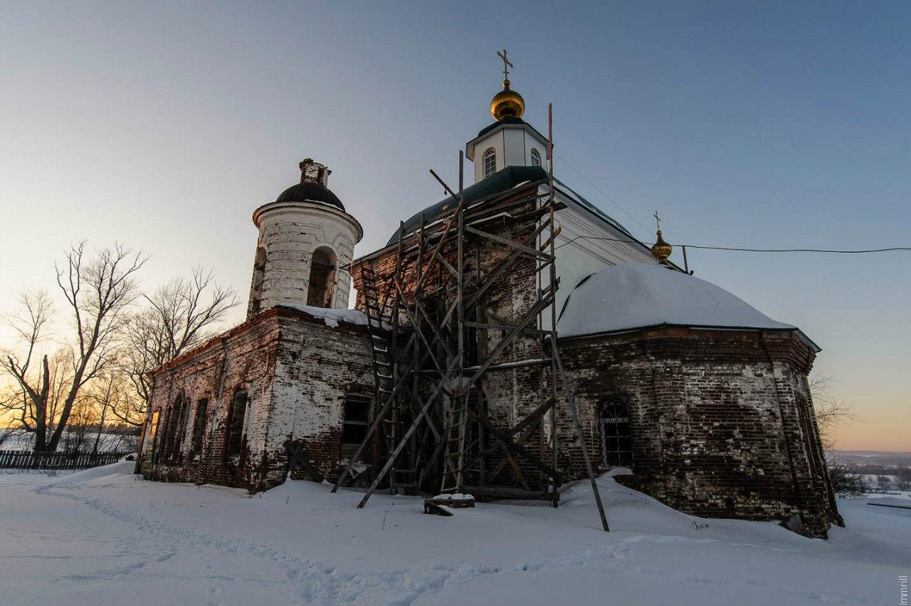 Церковь Троицы Живоначальной в Троицке (1776-1808)
