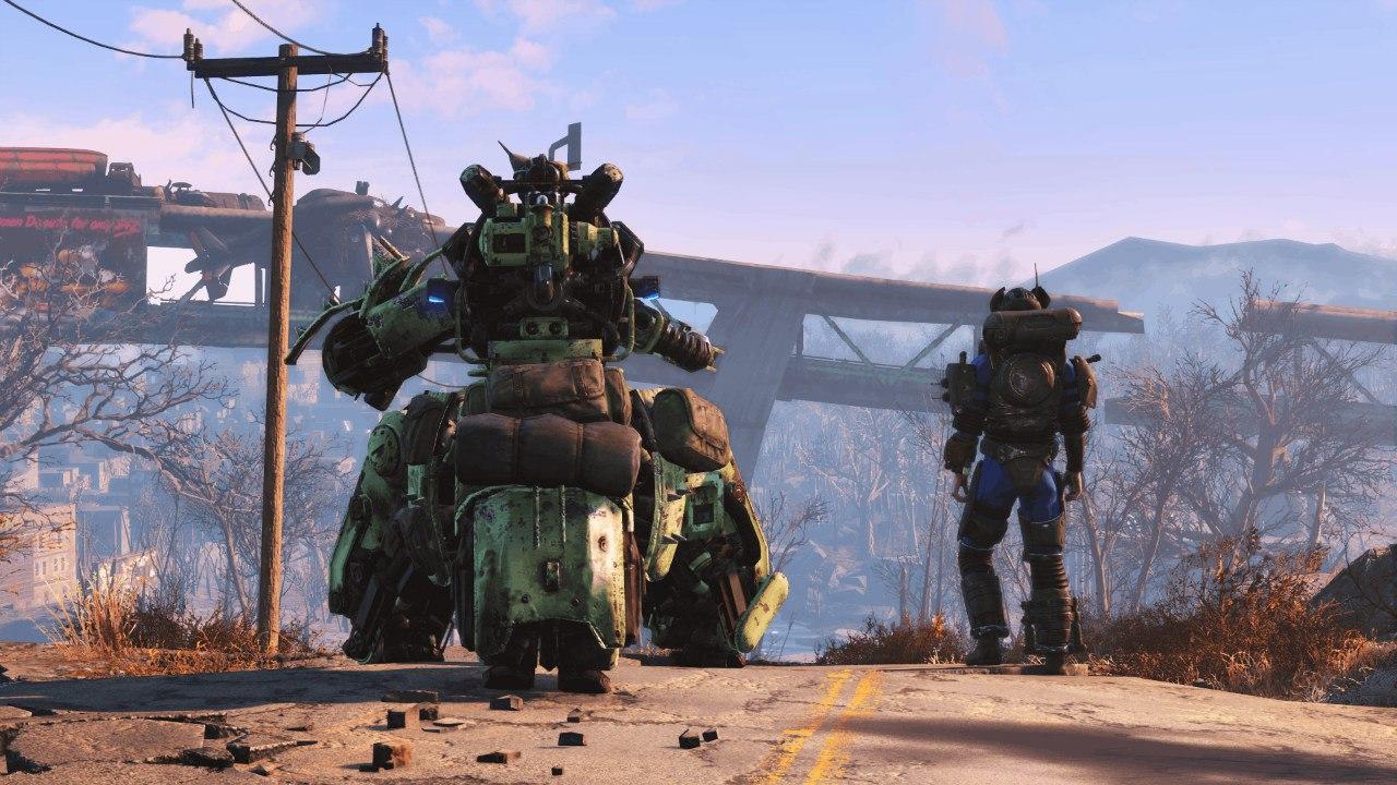 Первая информация о DLC Automatron для Fallout4