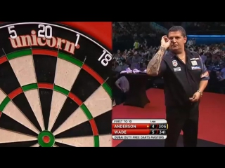 Gary Anderson vs James Wade (2015 Dubai Duty Free Darts Masters / Quarter Final)