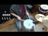 Урок игры на Барабанах #35 _ Тренировка акцентов на 16-е ноты _ Видео школа «Pro100 Барабаны»