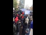 Митинг у нас на Милашенкова,пришел под конец)