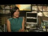 Неуправляемый/Unstoppable (2010) Интервью №2 с Розарио Доусон