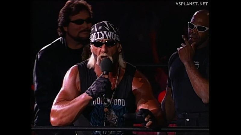 Hulk Hogan opens WCW Monday Nitro 03.02.1997