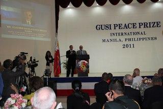 Пресс-конференция Владимира Мегре. Филиппины, Манила 23.11.11.