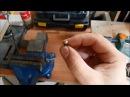 Полукруглая заклепка с помощью дрели