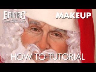 How to do a Santa Claus makeup-Como realizar un maquillaje de Papa Noel
