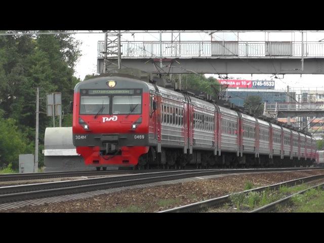 Электропоезд ЭД4М-0469 перегон Одинцово - Кунцево-1
