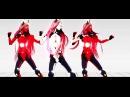 MMD | Kuroyu | TriOxygen Luka | Carbon Black Miku | Phosphorescent Rin