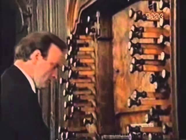 Karl Richter - Passacaglia Fugue In C Minor - BWV 582 (1969)