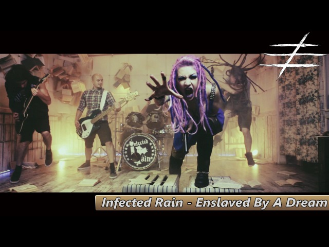 Infected Rain - Enslaved By A Dream (Official Video)