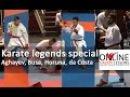 Aghayev, Busa, Horuna and da Costa in a Karate legends special
