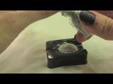 Как сделать праздничный маникюр с блестками