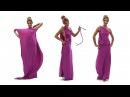 Платье в греческом стиле на одно плечо платье трансформер Лунги