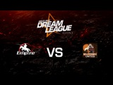 Empire vs. Burden United - League Play Game 1 - ASUS ROG DreamLeague Season 3