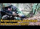 Агрессивные действия мобильных групп (действия в условиях высокой плотности противника)