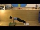 Briohny Smyth Yoga Demonstration Handstand