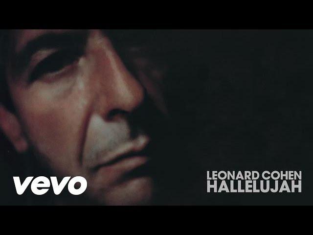 Leonard Cohen - Hallelujah (Audio)