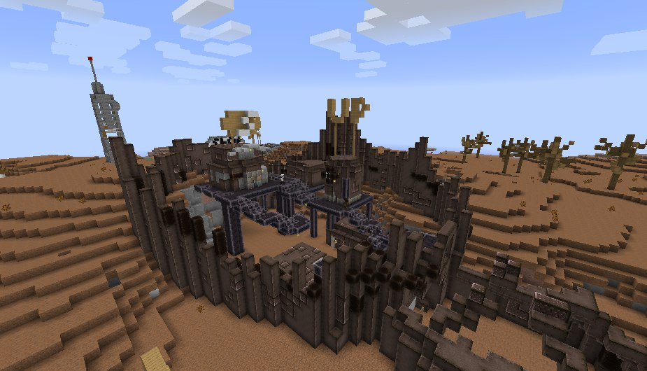 [Map][1.7.10] Fallout:Minecraft edition 0.5