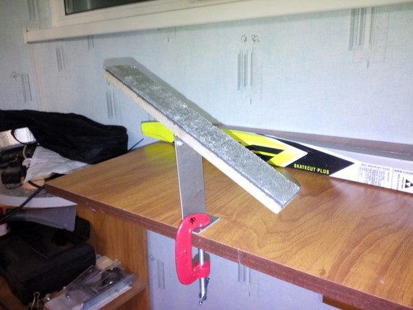 Инструмент для подготовки лыж своими руками