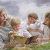 Семейное обучение по советским учебникам