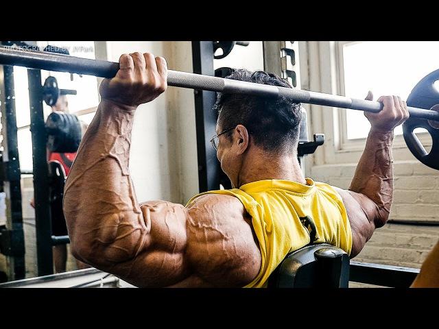 2015 MR.OLYMPIA D-2 Shoulder workout (KYUNG WON KANG)
