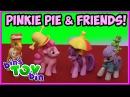 My Little Pony Minifigures Pinkie Pie, Maud Pie, Gummy, Twilight Sparkle, Mr. Cake | Bin's Toy Bin