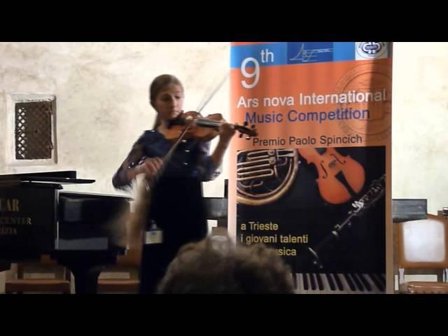 Tomaso Vitali - Ciaconna, Dasha Rakhmanina, 12 years, Kiev, Ukraine