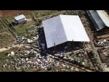 NBC News archive footage of Jonestown