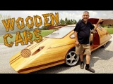 Wooden Cars Man Creates Tree-mendous Motors