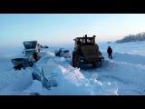 Вести.Ru: Снежная засада на трассе Оренбург-Орск: очевидцы выложили новые кадры спасения людей