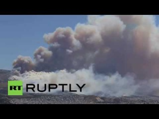 Greece: Wildfires in Athens threaten homes