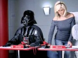 Darth Vader and Heidi Klum Advert