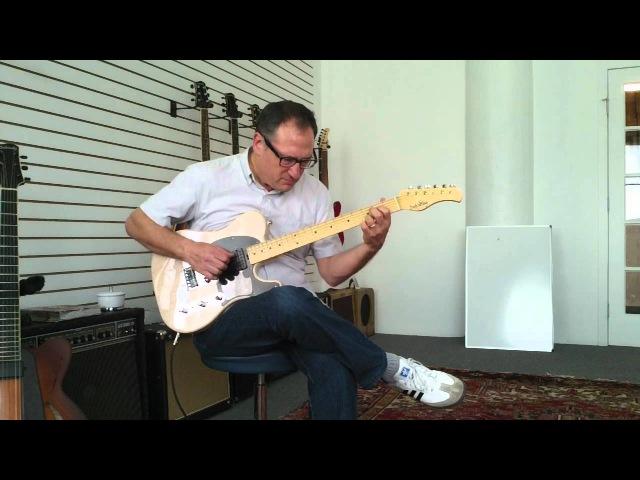 Chuck Loeb plays Sadowsky T-style guitar