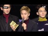 151202 2015 MAMA EXO Global Fan's Choice (Male) Award
