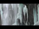 Чегемские водопады зимой 2015, достопримечательности Кабардино Балкарии