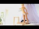 #Teen#  Блондинка, маленькая, худая, без сисек# Сладкий утренний секс, классные сисечки. (Смотреть домашнее порно видео онлайн б