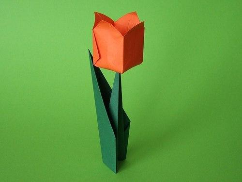 К поделкам оригами относилась