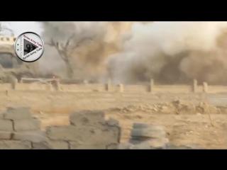 Сирия.26.12.2015.Дейр - эз Зор.Подрыв наблюдательного пункта дааш и гибель 8 боевиков