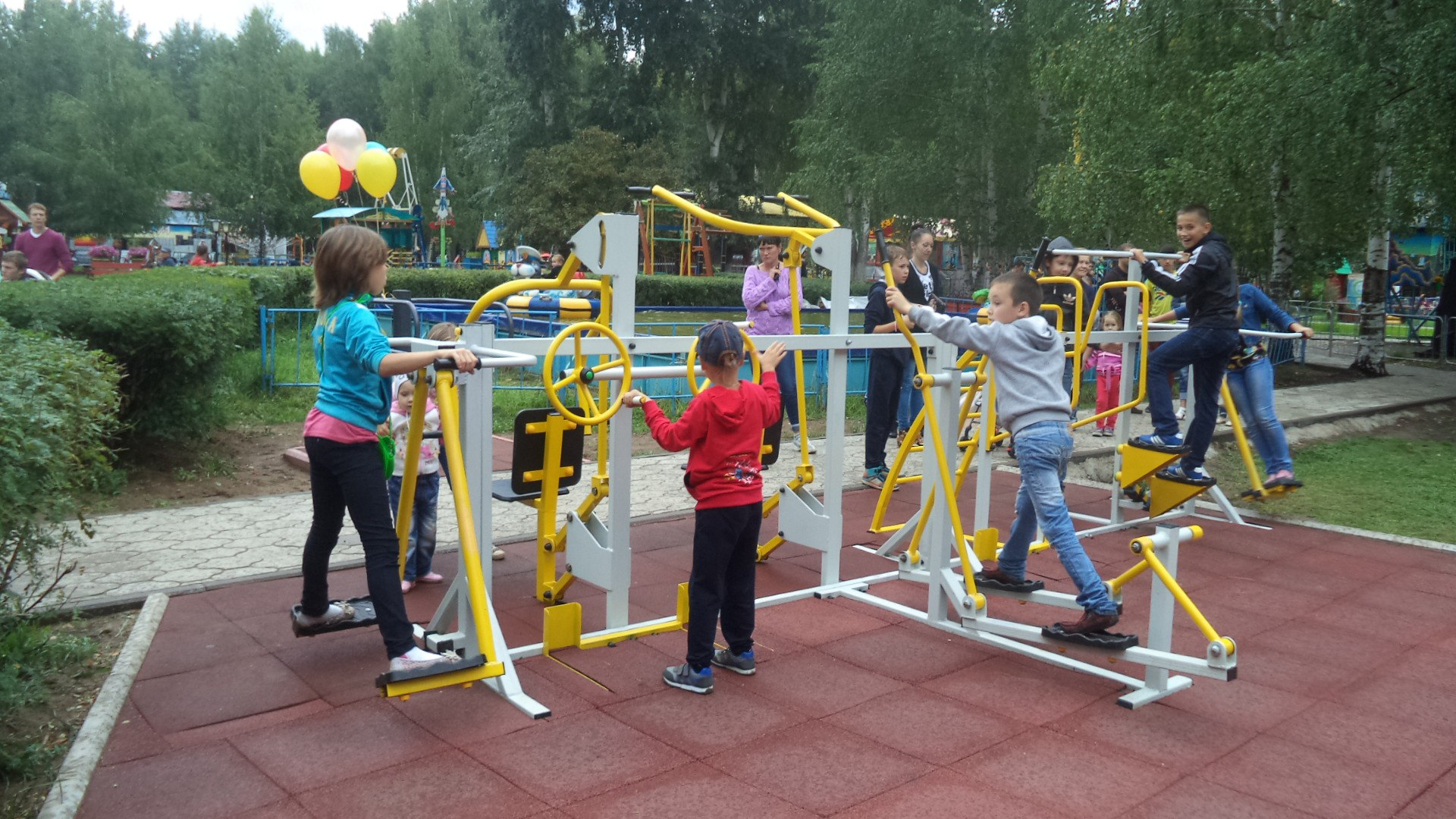 Площадка для ребенка фото