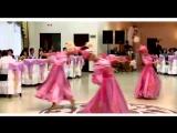 Выход невесты, казахский танец