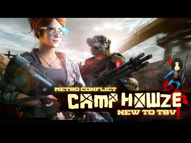 Metro Conflict - новая карта Camp Howze и АК-74М